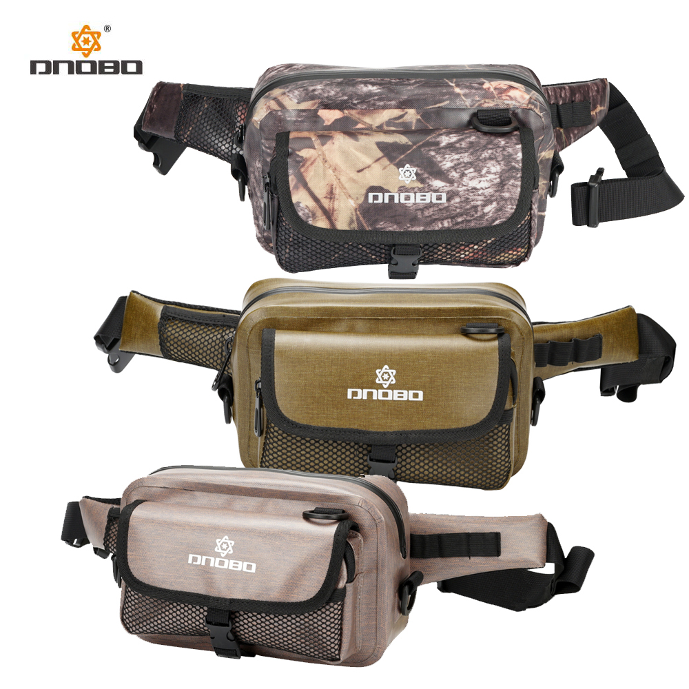 Unisex Waterproof Waist Bag Travel Belt Hip Bag Pack Outdoor Hiking fishing Running Leisure Zip Bag outdoor leisure waist bag black