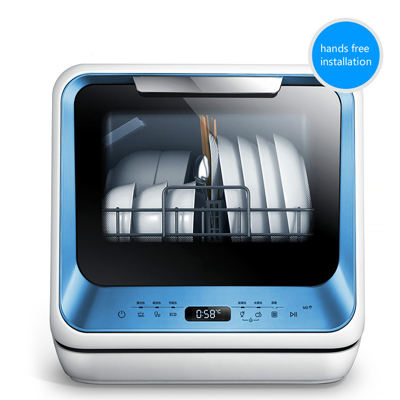 Dishwasher Desktop Small Free Installation Fully Automatic Disinfection Drying Sterilization Wifi Control