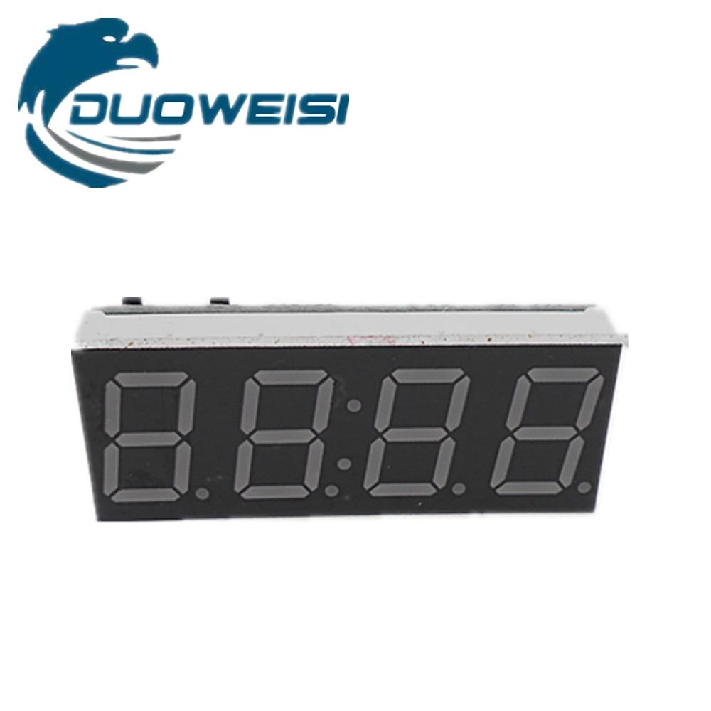 Цифровой трубки электронные часы микроконтроллер электронный счетчик объединить электронные часы 4-бит 0.56 DS1302 часы