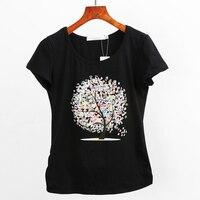 Summer Style T Shirt Women 2016 Fashion Slim Tops Short Sleeve T Shirts Women Plus Size