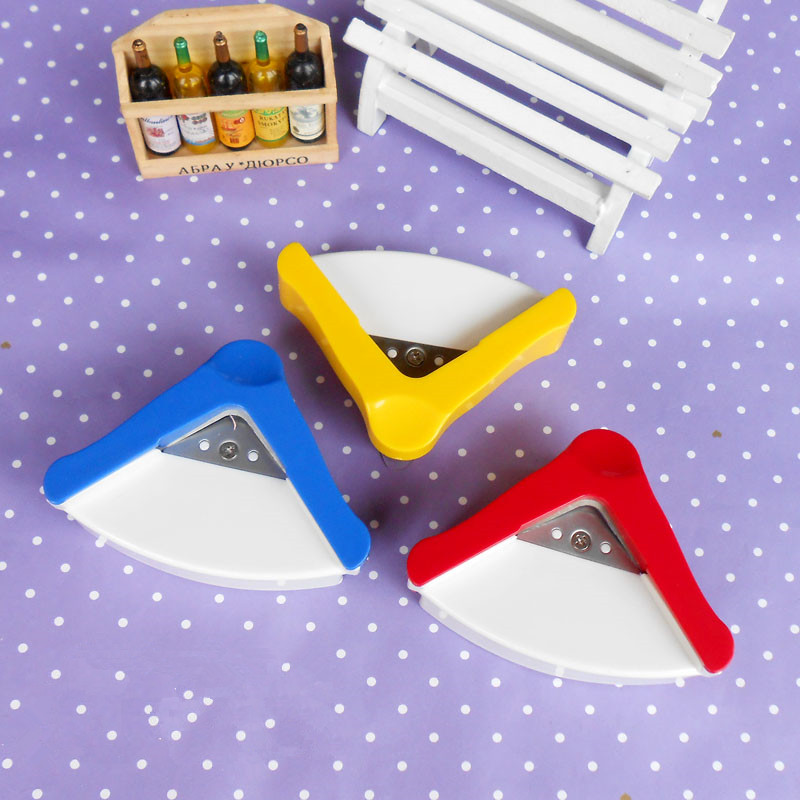 Diy r5 plastic corner rounder paper punch card photo for House decorating tools