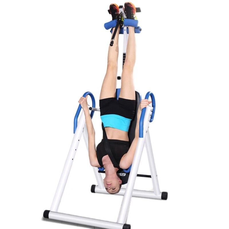 Pliage intégré Handstand Machine corps complet équipement de Fitness ménage Muscle Relax Handstand équipement d'exercice