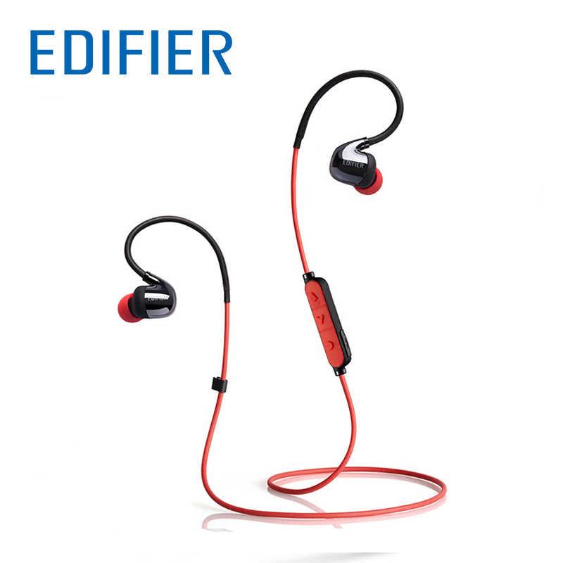 EDIFIER W295BT douszne słuchawki Bluetooth podwójna bateria bezprzewodowy zestaw słuchawkowy dźwięk Stereo Bluetooth słuchawki IPX4 odporny na pot