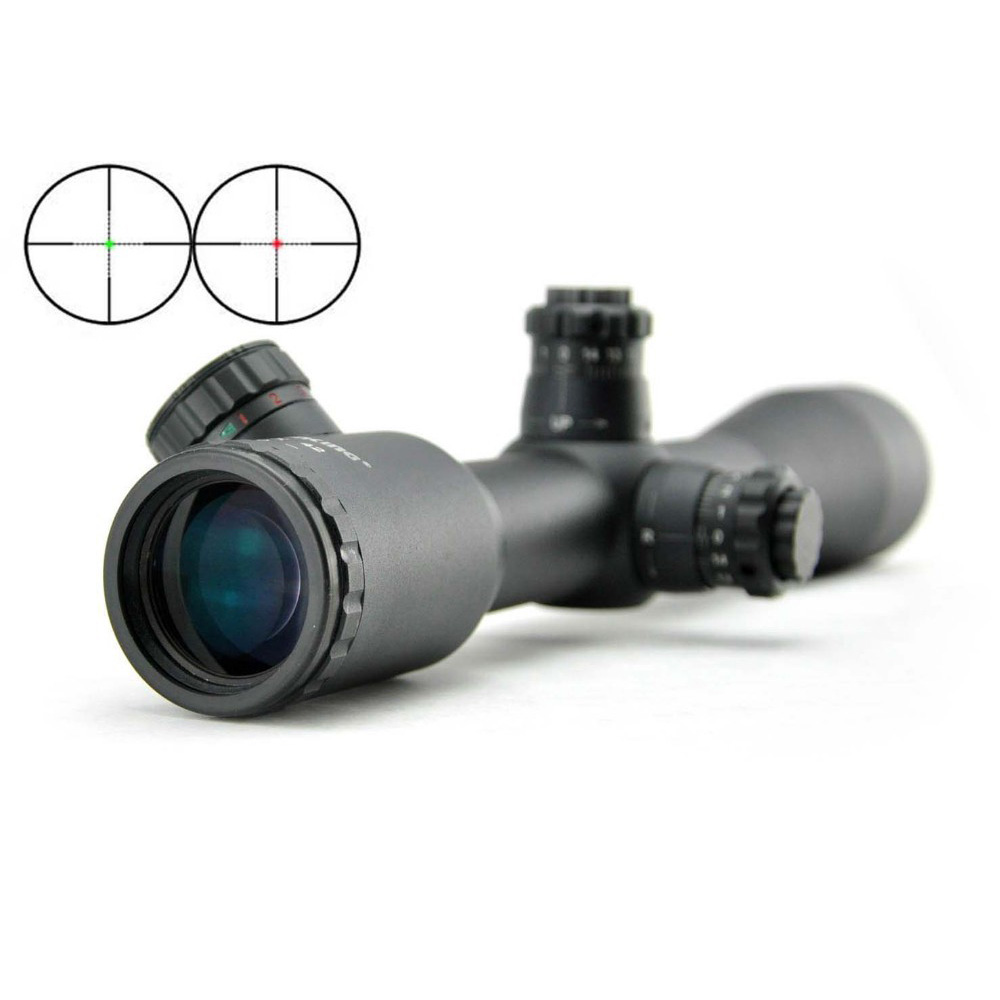 Visionking 6x42 Fixed Power Riflescope Mil Dot Tactical Hunting Rifle Scope For 223 AR15 308 Sight