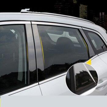 Средний столб, украшенный крышкой из нержавеющей стали для Renault Kadjar Z2AAL367