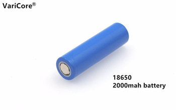 1 pcs.. New 18650 Rechargeable Battery 3.7V 2000 mAh 5C Power Discharge Li-ion Battery Group Flashlight for Mobile Device