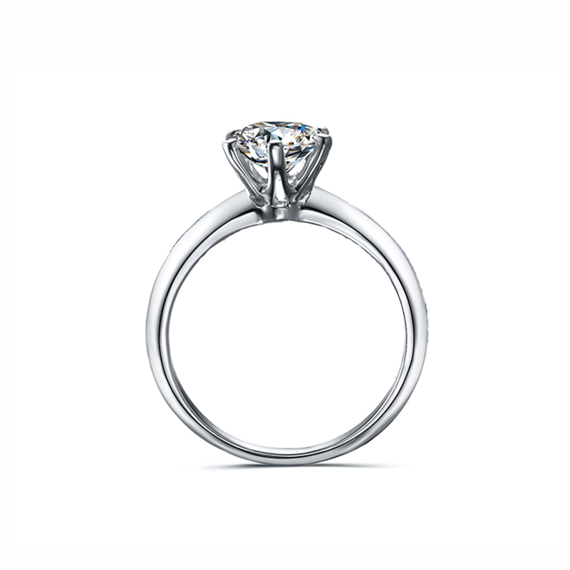 Ultimate Sale925-Sterling-Silver Ring Moissanite-Ring Diamond Jewelry Wedding-Party Women 3ct 1ct