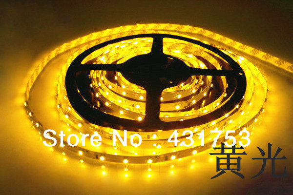 5m/lot 3528 5m 300 leds SMD Led Strip 60 Led per meter White/Warm white/Blue/Green/Red/Yellow Not waterproof (free shipping)
