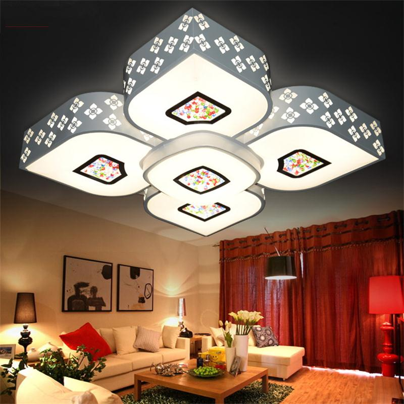 Modern Ceiling Lights For Living Room Lustre Lamparas de Techo Home Lighting Luminaire surface mounted Ceiling Light LED DimmerModern Ceiling Lights For Living Room Lustre Lamparas de Techo Home Lighting Luminaire surface mounted Ceiling Light LED Dimmer