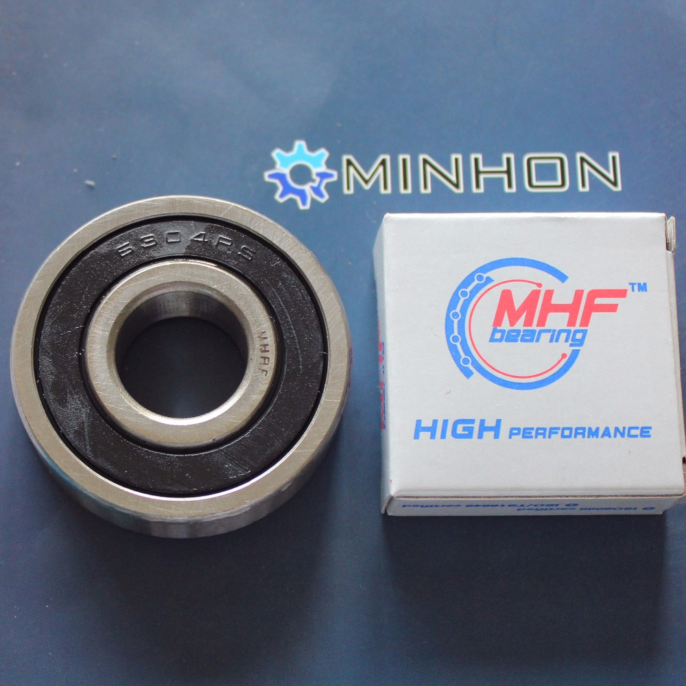 1pc 6304-2RS 6304RS MHF Miniature Deep Groove Ball Bearings Size 20x52x15 Mm Best Price High Performance