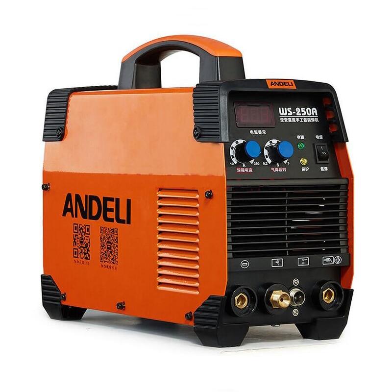 WS 250 Dual voltage 220V 320V 250A Industrial IGBT MMA ARC TIG Welder Machine