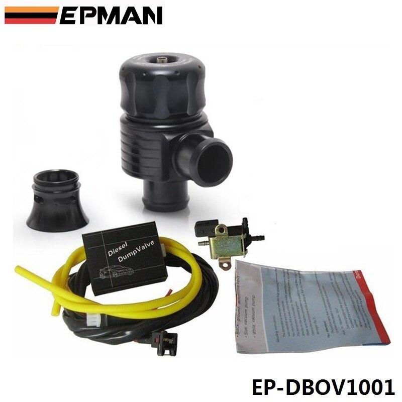 Nuovo Elettrici Diesel Blow Off Valvola Con Il Corno Esterno/Diesel Valvola di Scarico/Diesel BOV con Corno EP-DBOV1001
