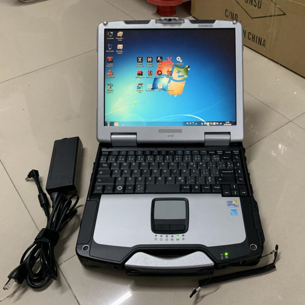 installed version alldata 10 53 and mitchell ondemand toughbook cf30 car truck diagnostic computer hard disk