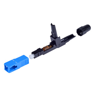 Image 3 - SC UPC szybkie złącze 100 sztuk Ftth Optical Connectos narzędzie do złącza osadzonego Ftth światłowodowe szybkie złącze UPC fibra optica