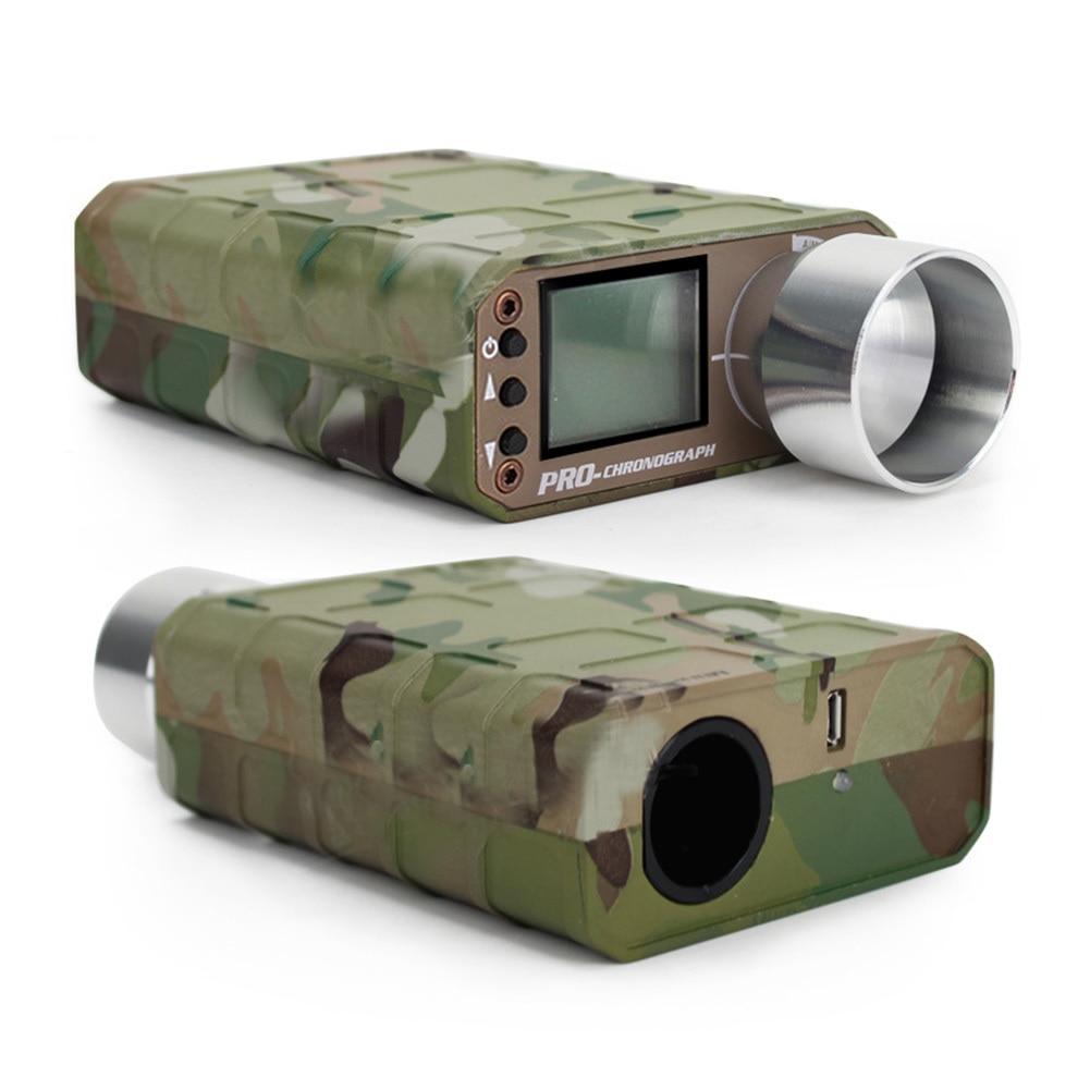 Tactique Airsoft BB testeur de vitesse tachymètre de tir chronographe testeur pour chasse testeur de tir accessoires de chasse