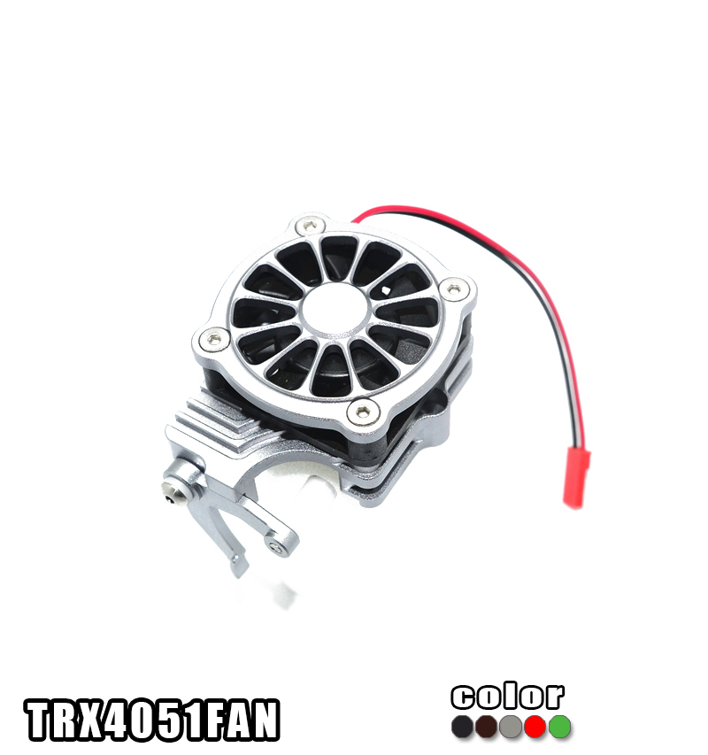 TRAXXAS TRX-4 TRX4 82056-4 aluminum alloy Cooling fan convenient  electric switch-set TRX4051FAN free shipping qqv6 aluminum alloy 11 blade cooling fan for graphics card silver 12cm