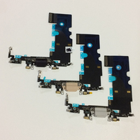 10Pcs Lot Free DHL Original New Charger Charging Port Connector Headphone Flex Cable With MIC For