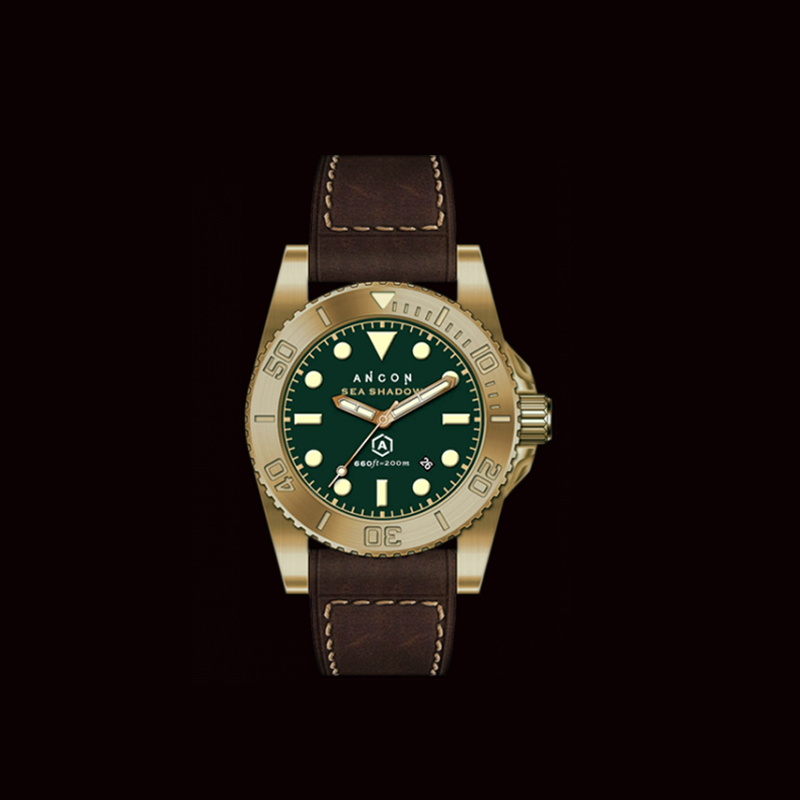 ANCON SEA SHADOW 1943 AGC 4 / SEA003 Diving Watch with