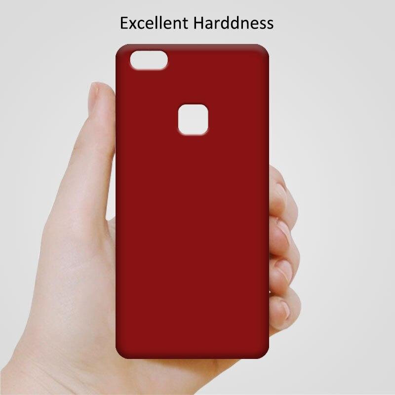 Новые прибыл Телефонные Чехлы для Coque Huawei P10 Lite p10lite чехол одноцветное Цвета матовая скраб принципиально Huawei P10 Lite 5.2 + подарок