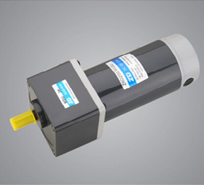 250W  24V  DC motors Micro DC gear motors small DC brush gear motors  with 30:1 gear box 90mm size shipping to Canada by DHL
