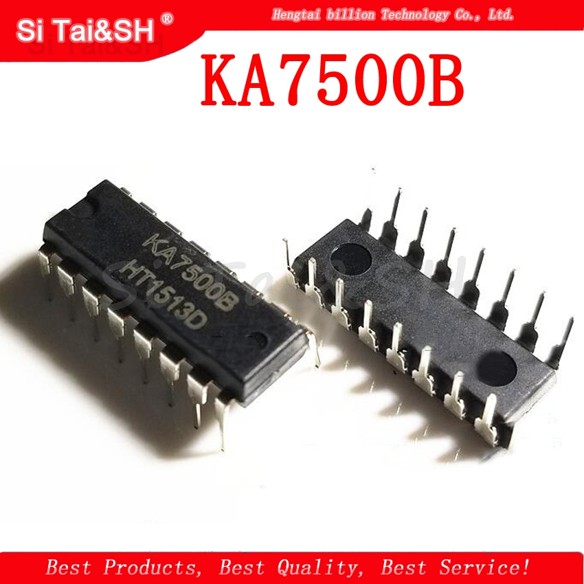 US $0 81 10% OFF 10PCS KA7500B DIP16 KA7500 DIP 7500b DIP 16 new and  original IC-in Integrated Circuits from Electronic Components & Supplies on
