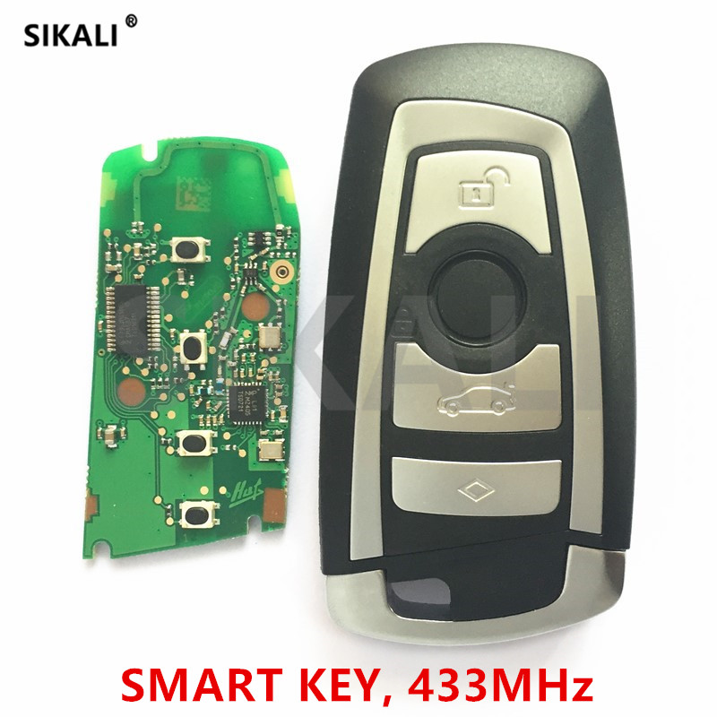 Driving A Roaring Trade Sikali Smart Key Car Remote 433mhz For Bmw Cas4/cas4 System 1 3 5 7 Series 523 528 535 550 318 320 325 328 330 335 Etc