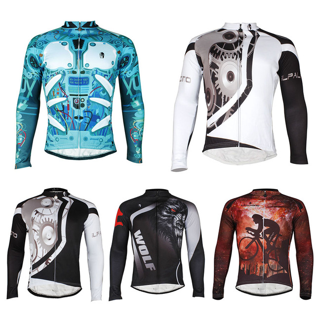 f90656eaa8b GZDL Men Quick Dry Breathable Bicycle Jersey Cycling Racing Team Sportswear  Long Sleeve Jacket Top Ciclismo