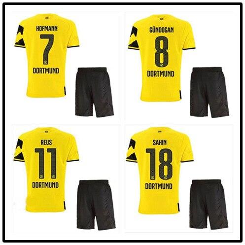 c0f5e21cb7 Kits 14 15 Borussia Dortmund camisa de futebol + REUS GUNDOGAN SAHIN casa  futebol camisa BVB uniformes de futebol em Camisas de futebol de Sports ...