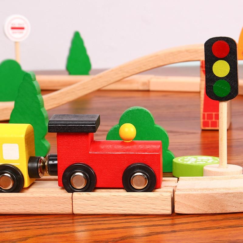 brinquedos trem trilho conjunto completo de brinquedos 04