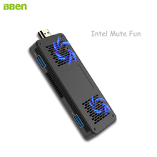 Bben Мини-ПК 3 ГБ Оперативная память 64 ГБ Встроенная память Окна 10 Intel Apollo Lake N3350 HDMI WIFI 2.4 ГГц и 5 ГГц BT4.0 USB3.0 мини-компьютер PC stick MN10