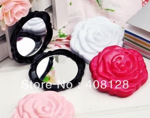 frete gratis 3d rose forma compacta cosmtic