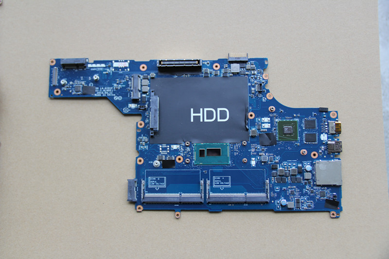 For DELL Latitude E5540 Laptop motherboard VAW50 LA-A101P with <font><b>I7</b></font>-<font><b>4600U</b></font> CPU and N14M-GE-S-A2 GPU Onboard DDR3 fully tested image
