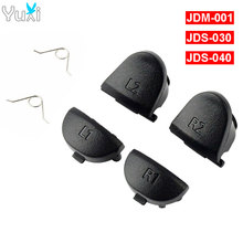 YuXi For Sony PlayStation 4 PS4 JDM JDS 001 030 040 L1 R1 L2 R2 Trigger Buttons+springs Repair parts for dualshock controller