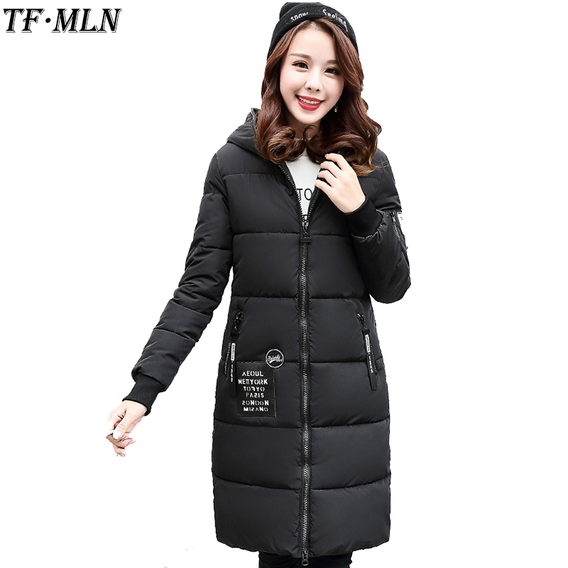 Winter Jacket Women 2017 Fashion Cotton Coat Female Warm Hooded Parkas Female Overcoat High Quality Women Cotton padded Jacket 2017 new winter fashion cotton coat female slim warm hooded parkas female overcoat high quality women cotton padded long jacket