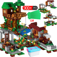 Technic Village The Tree House Building Blocks legoingly Minecrafted Series Sets Figures Bricks Educational Toys For Children