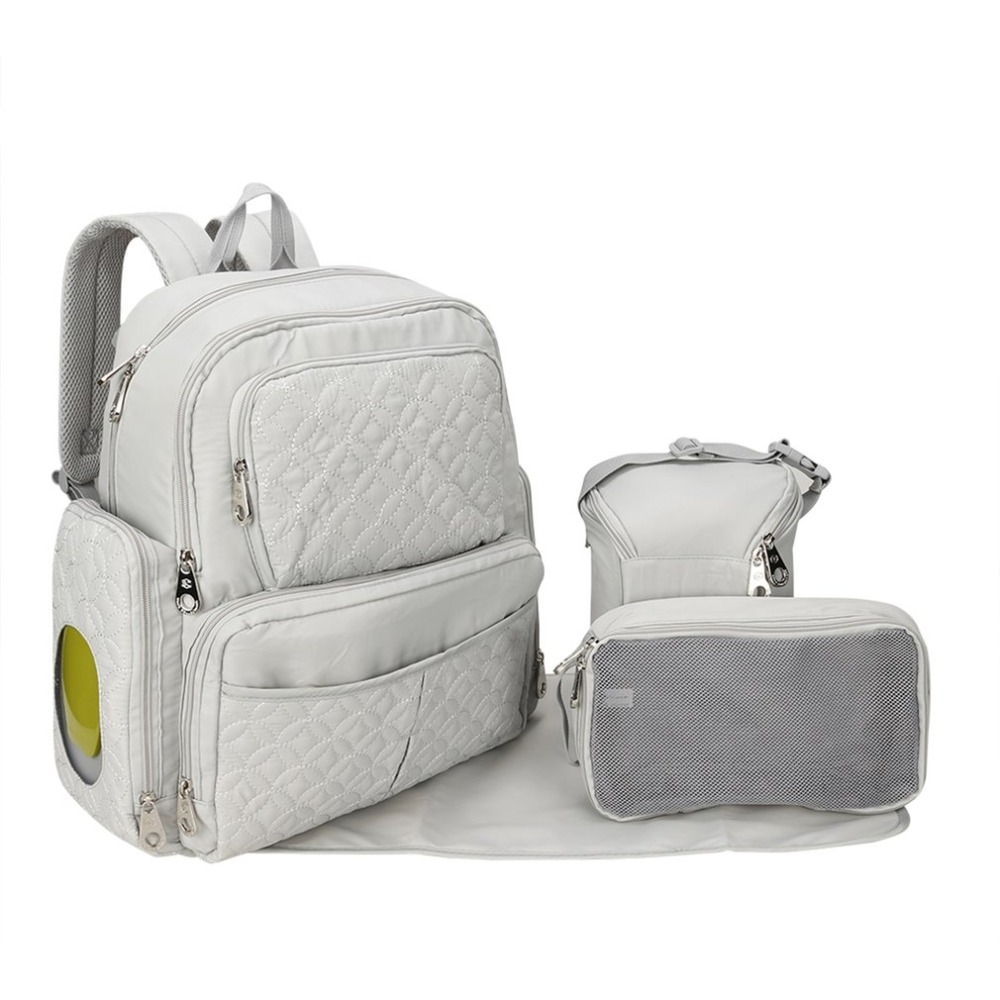 5PCS/Set Large Capacity Mummy Bag Mother Bag Diaper Backpack Baby Nappy Bags Nursing Baby Care Maternity Mummy Stroller Bag mummy bags big size mother