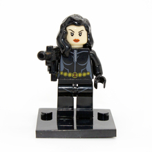 Black Widow Minifigures Marvel Super Heroes The Avengers Building Block Sets Model Bricks Toys For Children Super hero small toy