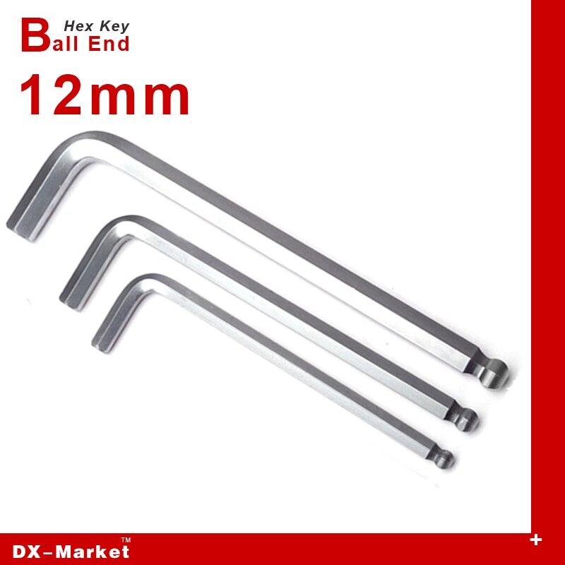 12 мм шестигранных ключей удлиненной ручкой, легированная сталь DIY мяч гаечный ключ инструмент, велосипед инструменты manufactuer, titanium покрытие