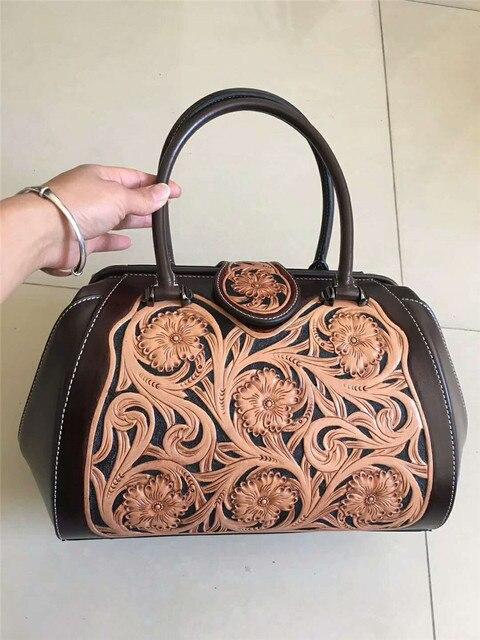 Women Bag genuine Leather DIOLEVY Brand Handmade