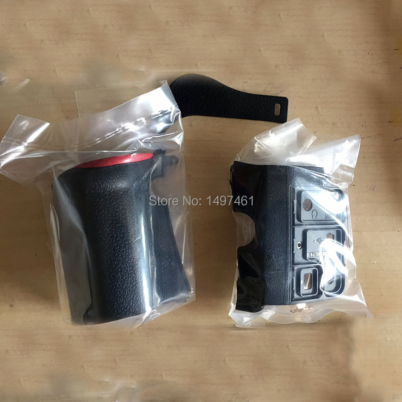 A Set of 3PCS New original Bady rubber Grip left side thumb repair parts For Nikon
