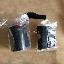 セット 3 ピースの新オリジナル Bady ゴム (グリップ + 左側 + 親指) の修理部品ニコン D610 一眼レフ
