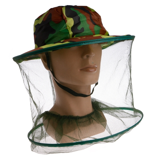 Fishing Hats Anti-mosquito Hat Outdoor Cap Sunscreen Cap Insect Bee  Mosquito Resistance Mesh Head Face Protector 98dcfa4b043