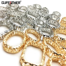 GUFEATHER M197 jewelry accessories jewelry findings diy accessory parts charms copper hand made jewelry making diy jewelry cheap 0 1cm Metal All Compatibility Geometry Fashion Women girls lovers Party Wedding Valentine s Day Gift Christmas Popular romantic classic hip-hop
