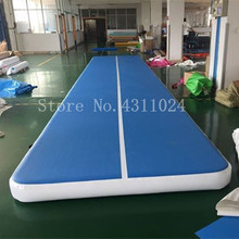 Free Shipping 9x1x0.2m Wholesale Gymnastics Inflatable 9m Air Track Double DWF Gym Mat Inflatable Air Tumble Track For Sale free shipping 6m 20ft inflatable air track inflatable tumble track gymnastics inflatable air mat for gym