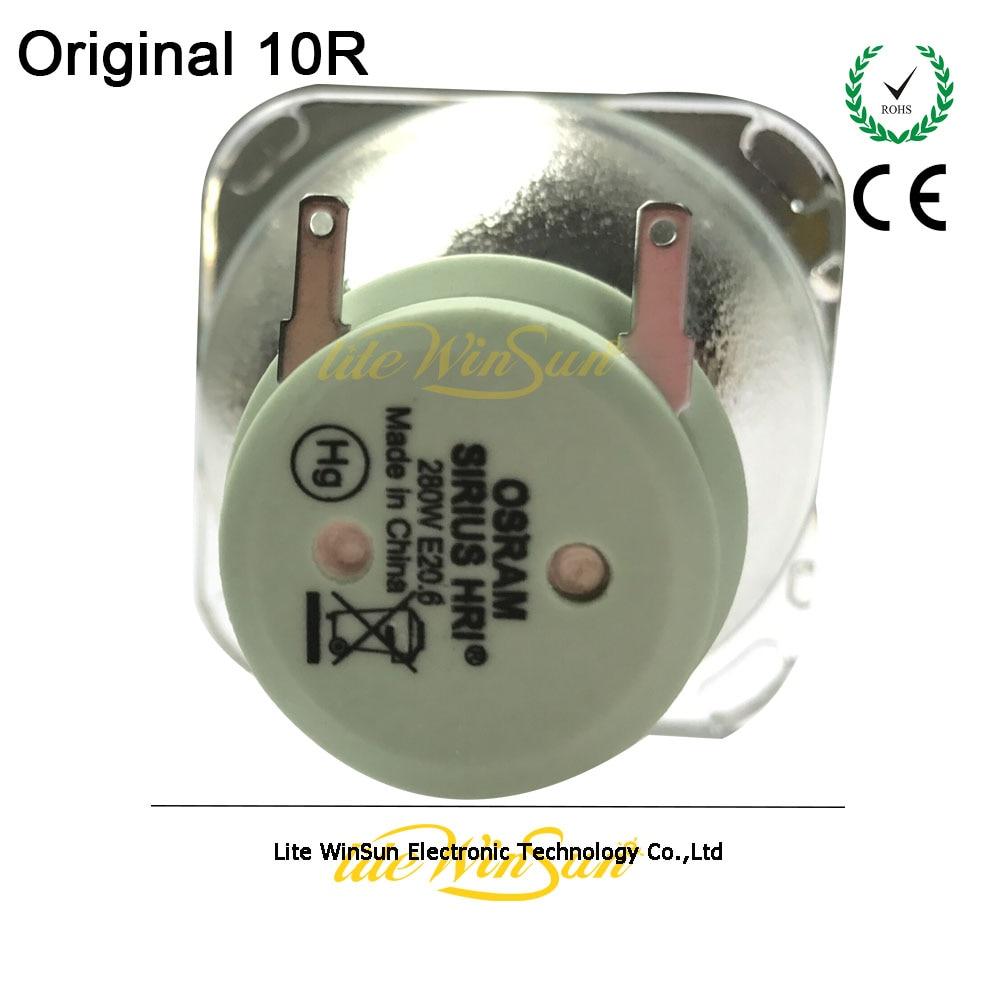 Litewinsune ORIGINAL OSRAM SIRIUS HRI 280W 10R Fuente de la lámpara Robe Pointe Bombilla de repuesto