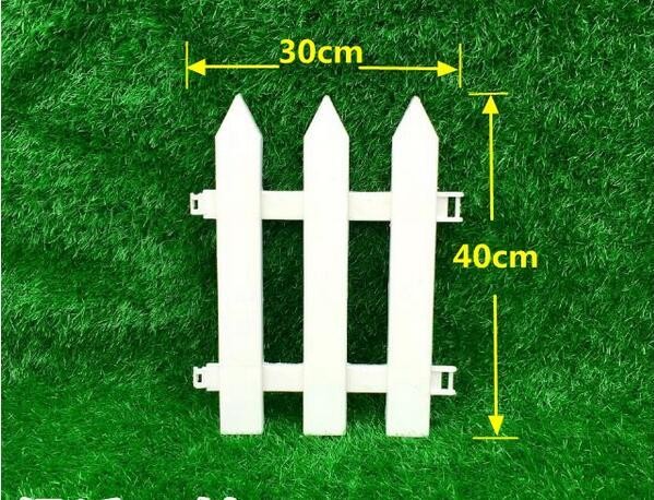 envo libre w30cm h40cm 10 unids puntas jardn valla de plstico blanco