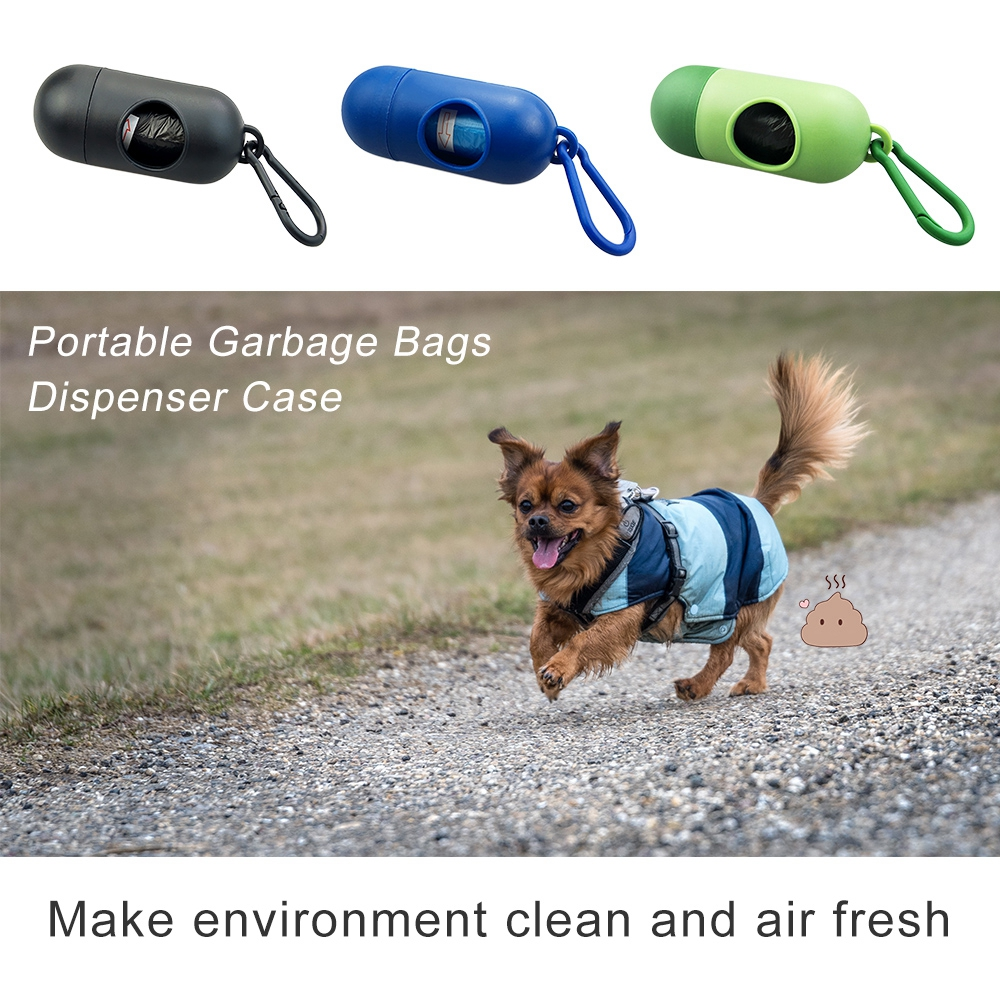 Pet Dog Poop Bags Pooper Bag Carrier Outdoor Dog Accessories Portable Poop Garbage Bags For Dogs Cat Pet Supplies Pooper Scooper (11)