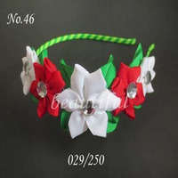 100 pcs BLESSING Good Girl Modern Style Headband accessories hyacinth Garland Hair Bow