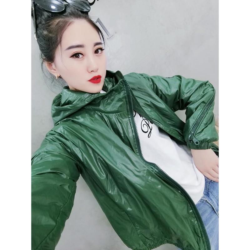 Street wear Women Jacket Spring Coat Eurpean Style Jackets Fashion Short Jacket Side zipper Hooded design Chic Women outwear