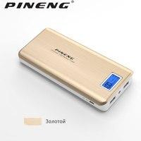 Original PINENG PN 999 20000mah Ultrathin Portable Bateria bank power Portable Power Bank External Battery Charger with LCD